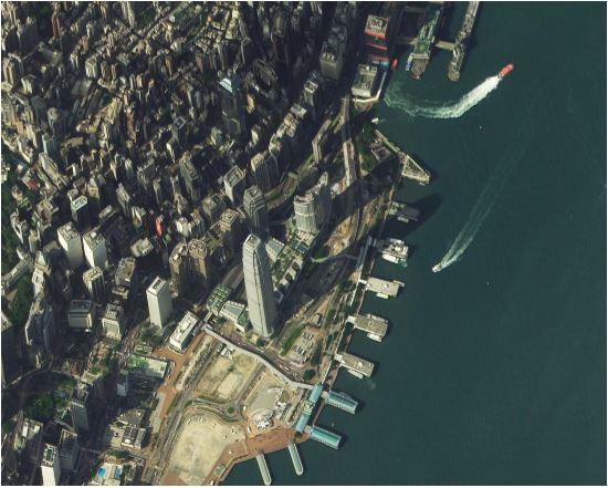 Victoria Harbour in Hong Kong by TripleSat-1 on 24 Nov, 2015