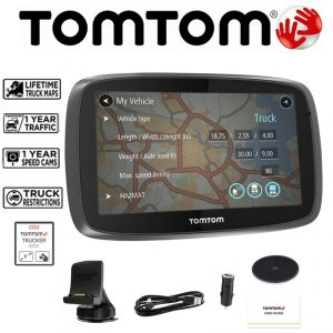 TomTom announced the launch of its TRUCKER 6000 Lifetime Edition