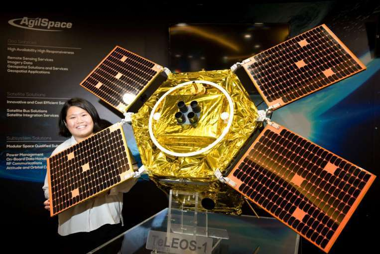 ST Electronics has launched its new commercial imagery service using the made-in-Singapore commercial Earth observation satellite, TeLEOS-1.
