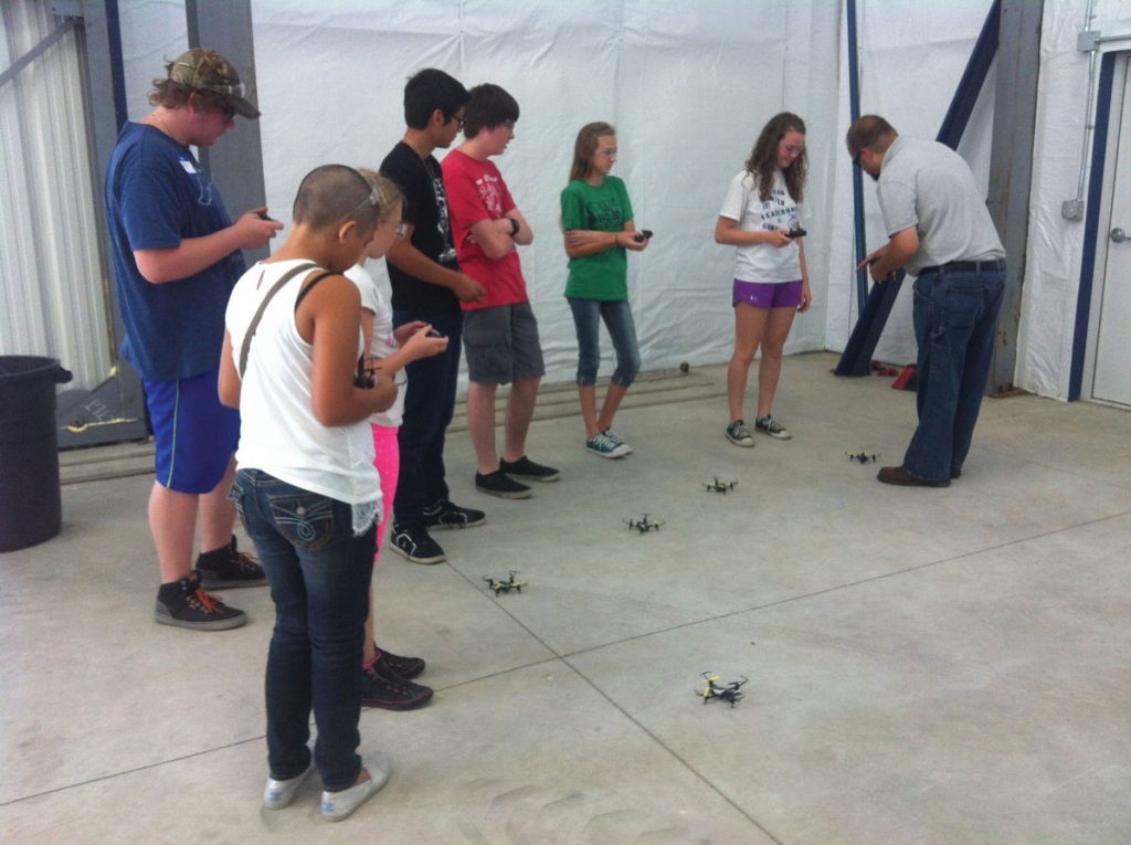 Tioga Municipal Airport held its first Drone Camp for Kids last weekend to promote science, research, and education.