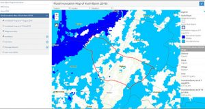 ICIMOD's Koshi Basin Programme (KBP) is prepared for a rapid disaster response with 'flood inundation map.'