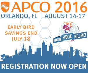 GeoComm has announced to be present at the 2016 APCO Annual Conference and Expo.