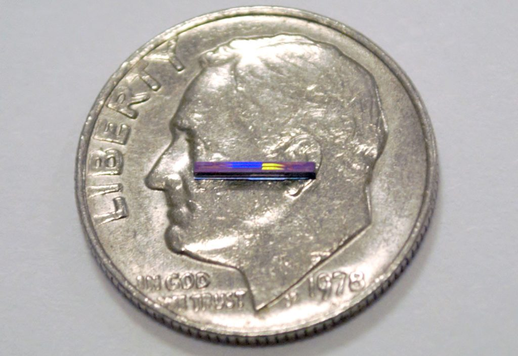 "Engineers at the Massachusetts Institute of Technology (MIT) have created what they call a ""LiDAR chip."""