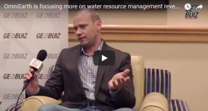 OmniEarth is focusing more on water resource management reveals, Lard Dyrud, CEO of OmniEarth