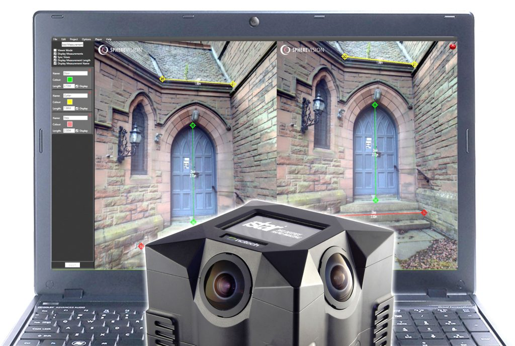 Arithmetica released a new version of SphereVision 360 degree imaging software with support for NCTech's industrial grade iSTAR panoramic camera.