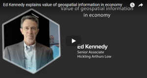 Value of geospatial information in economy