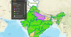 Indian govt has launched a GIS platform that displays the information of all govt schools across India.