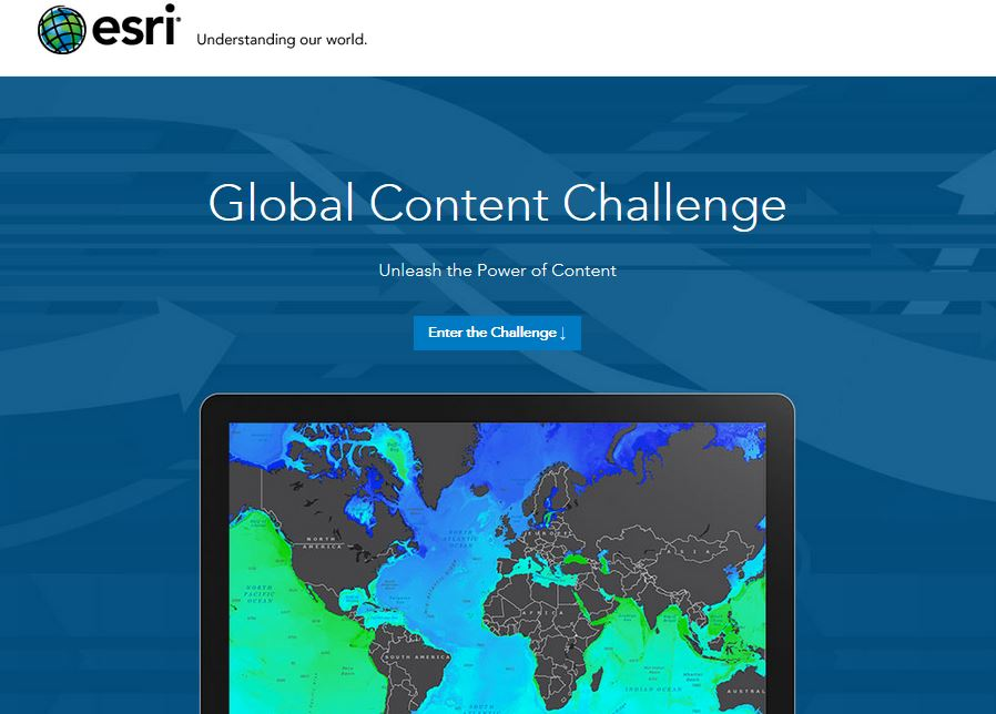 Esri is inviting students from all over the world for a new contest called Global Content Challenge to tell stories using Esri Story Map Journal app.