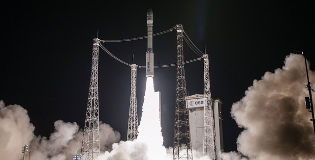 Space Systems Loral (SSL) has congratulated Terra Bella for the successful launch of its four SkySats aboard an Arianespace Vega on September 15, 2016.