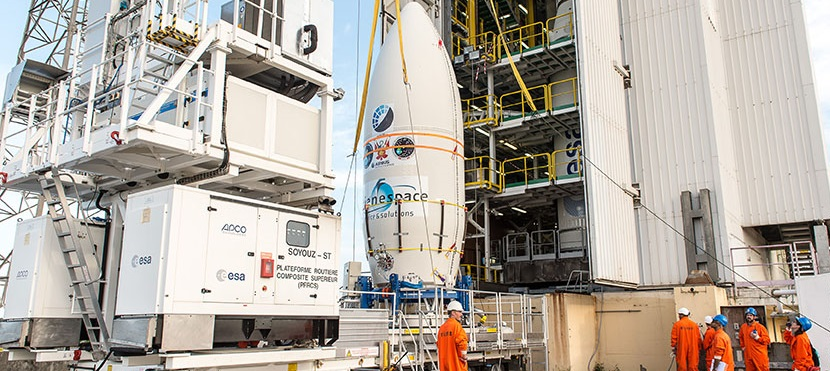 Arianespace is gearing up for a five satellites' launch from its Vega rocket.