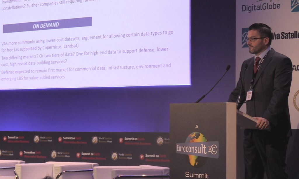Euroconsult Managing Director Adam Keith
