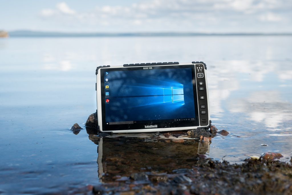 Handheld Group has introduced a new and improved screen technology and improved GPS/GLONASS functionality on its Algiz 10X ultra-rugged tablet computer.