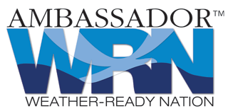 Esri has annouced to become an ambassador for the Weather-Ready Nation initiative and NOAA.