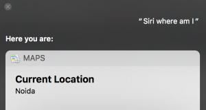apple map app macbook - siri opening maps