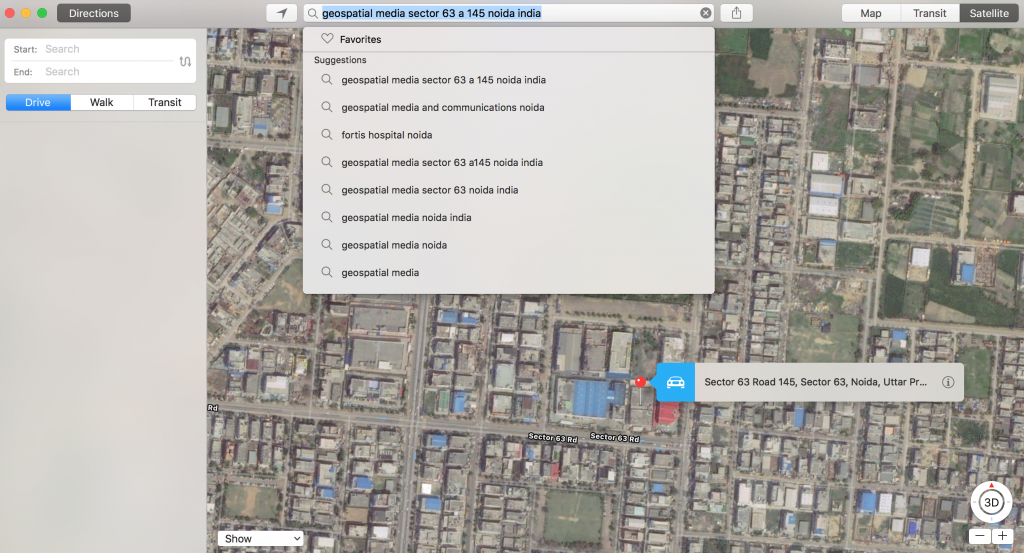 Seven unsuccessful attempts to search for a place in Apple Maps? Do you have the patience!