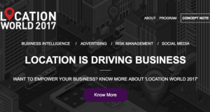 How Location Empowers Business? Get to Know at Location World 2017