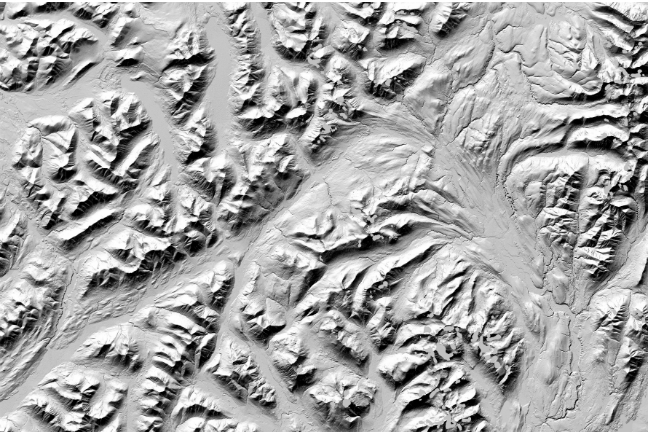 How To Make A 3d Topographic Map.Researchers Make High Resolution 3d Topographic Maps Of Alaska