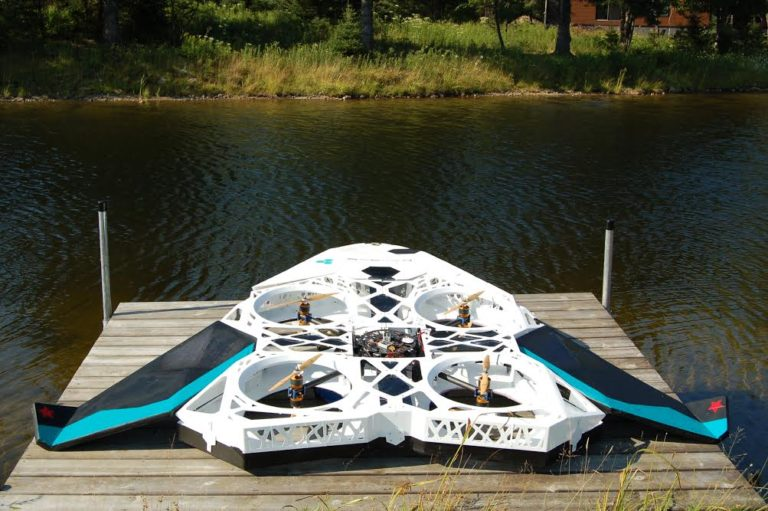 SlidX has developed a 3D printed drone that can help people during medical emergencies, or at the scene of an accident, or a major disaster.