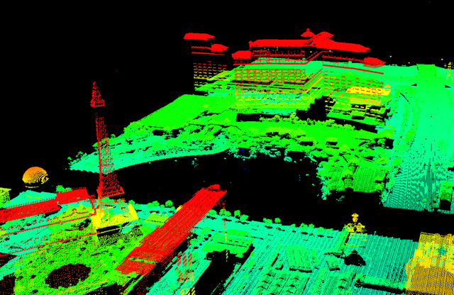 Southern Nevada Water Authority is collecting LiDAR data to figure out how much water those plants.