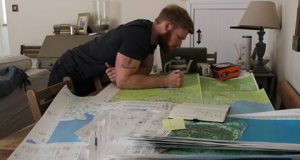 East View Geospatial will provide remote maps to two former Royal Marines, who wants to travel across the five largest islands on the planet.