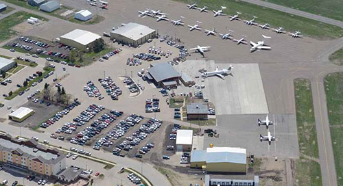As North Dakota continues to forge a reputation as a hub of drone activity, the potential of the technology is reaching small airports in the region.