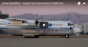 Aerial Expedition - Ocean Force one arrives in california