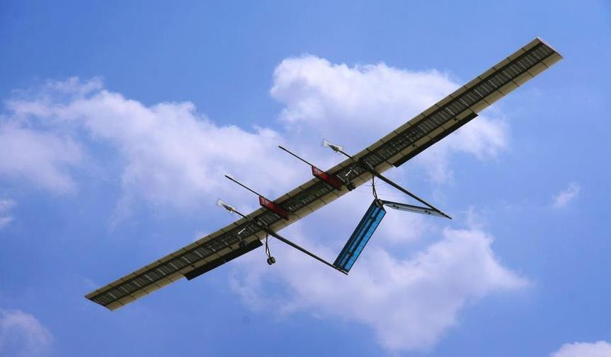 Chinese researchers develop solar-powered UAVs