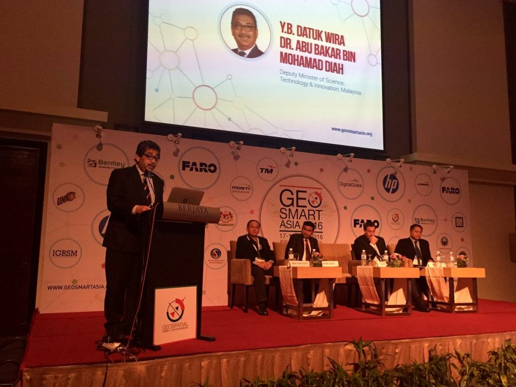 South Asia's premier geospatial industry conference, GeoSmart Asia 2016 has begun amid much fanfare in the heart of Malaysia's Kuala Lumpur.