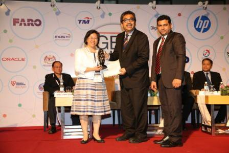 Ministry of the Interior, Taiwan (R.O.C.) & Supergeo conferred Asia Geospatial Excellence Award 2016 for Statistics