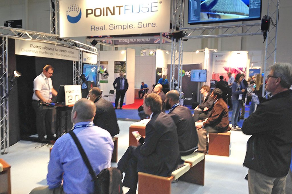 Arithmetica launched its Pointfuse V2 - the new version of its point cloud processing software, at the Hamburg Messe and Congress in Germany.