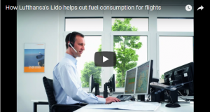 Lufthansa lido help in fuel consumption