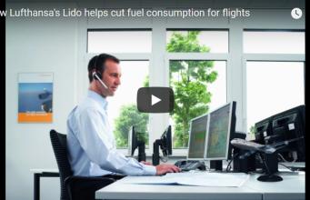 Lufthansa lido help in fuel consumption