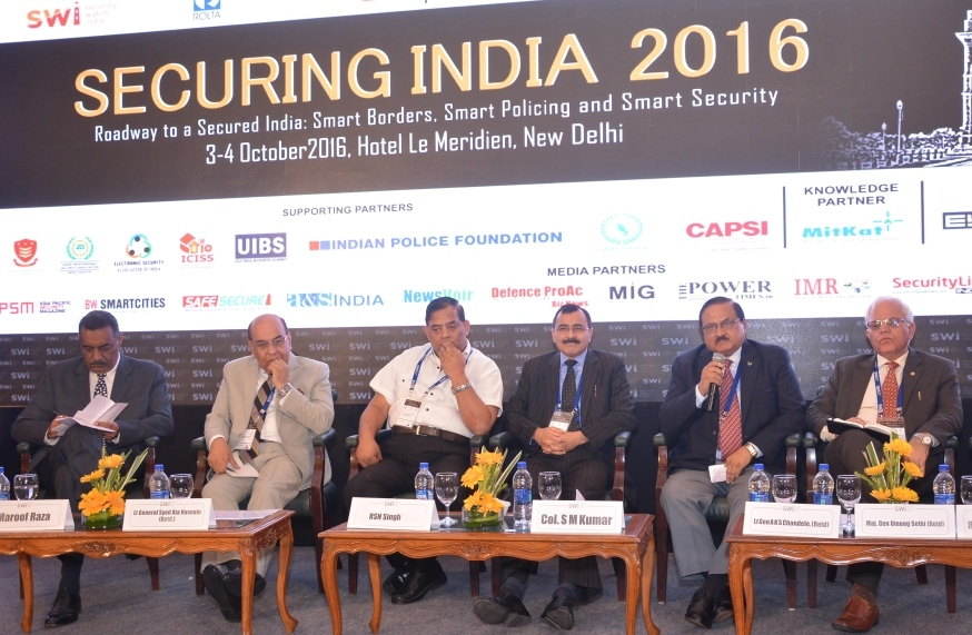 Securing India 2016 on smart borders