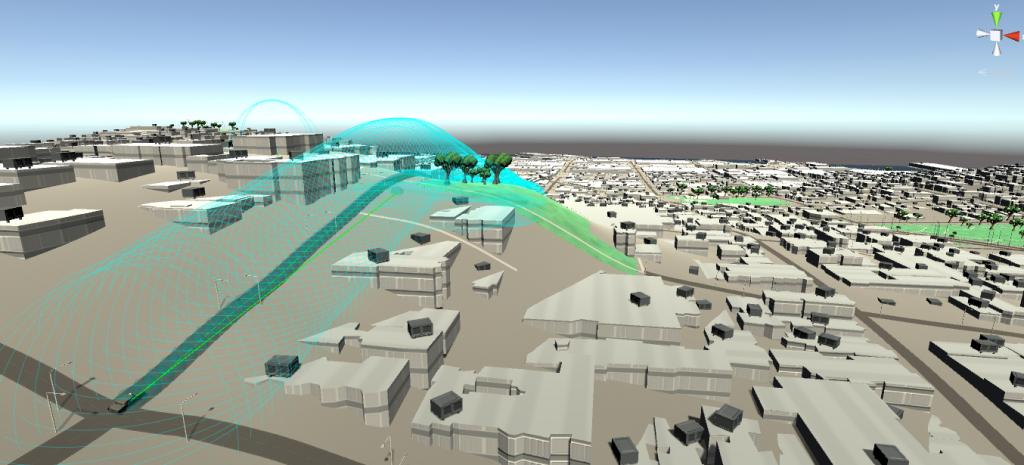 Real world 3d data for gaming environments
