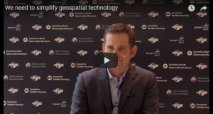 jason andrews believes to simplfy geospatial technology
