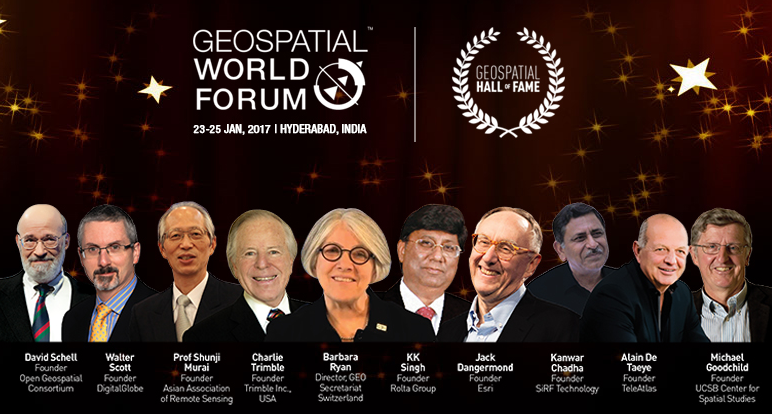 We're recognizing ten pioneers known for their relentless leadership and innovative ideas, which ultimately changed the face of the geospatial industry.