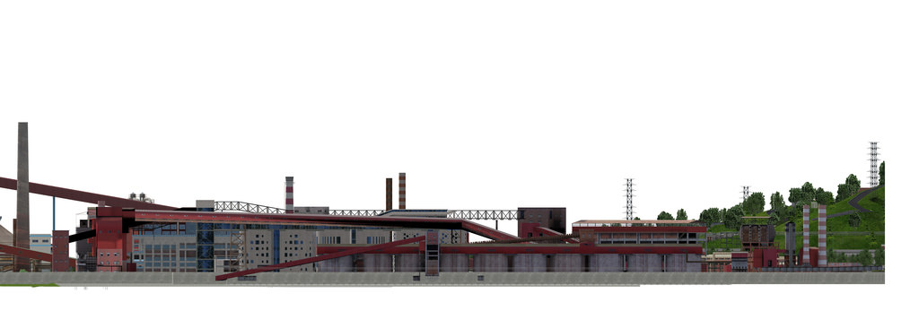 2022 Winter Olympic Organizing Committee protects Shougang's industrial heritage. Image Attribution: Beijing Shougang International Engineering