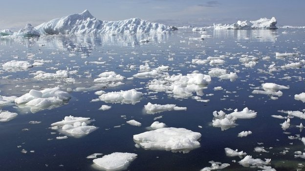 A new study has calculated Arctic sea ice loss based on the carbon footprint of individuals
