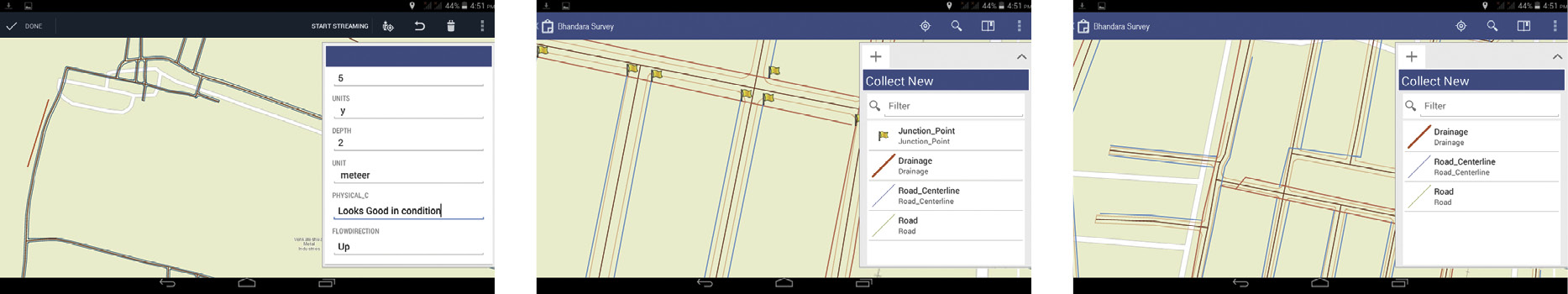 Mobile mapping for wastewater management in an Indian city