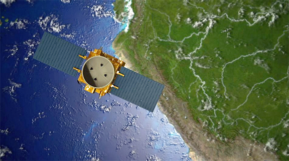 Designed and built by Airbus Defence and Space, the PerúSAT-1 satellite, has delivered its first images after its successful launch on 16 September from Kourou.