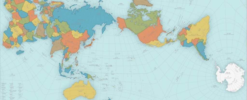 AuthaGraph World Map: Most accurate world map