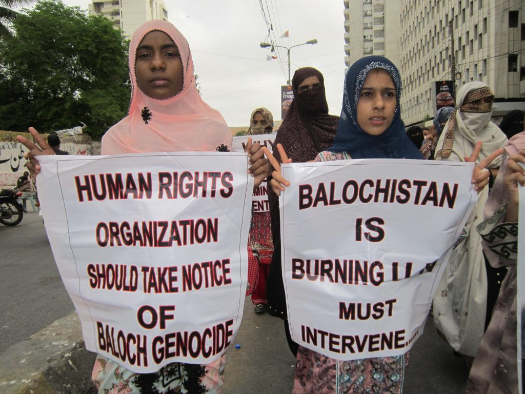 Image Courtsey: Baloch Human Rights Org