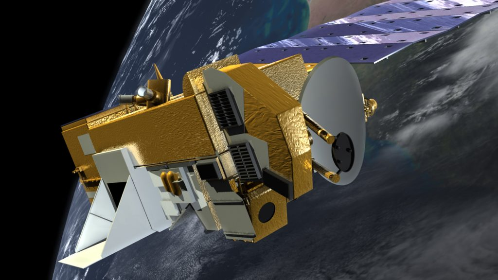 Aura satellite