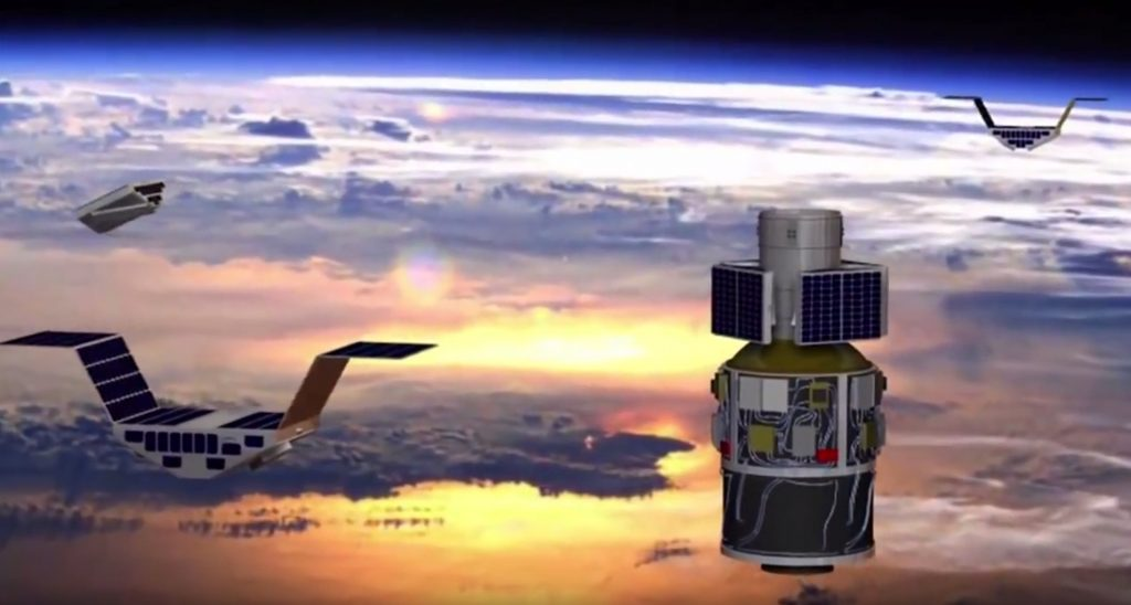 NASA small satellites to track hurricanes