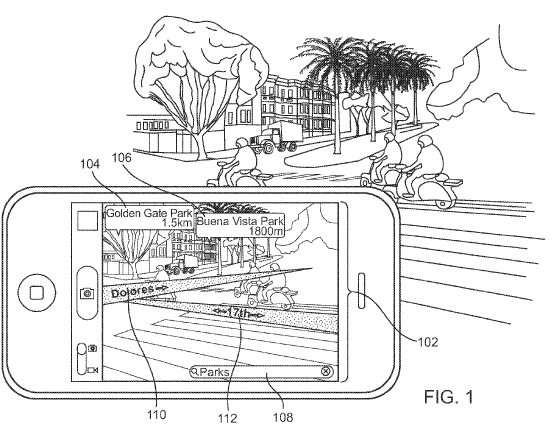 Apple plans for augmented reality