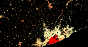 Facebook population dataset