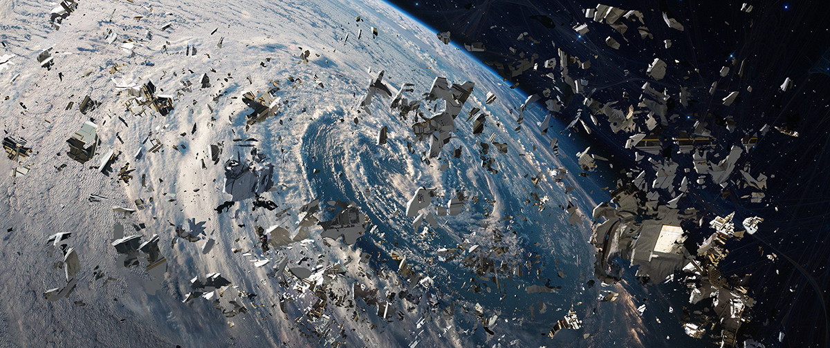 Space debris falling on the earth presents one of the greatest environmental challenges humanity is facing today, a leading Southampton academic has claimed in his study.