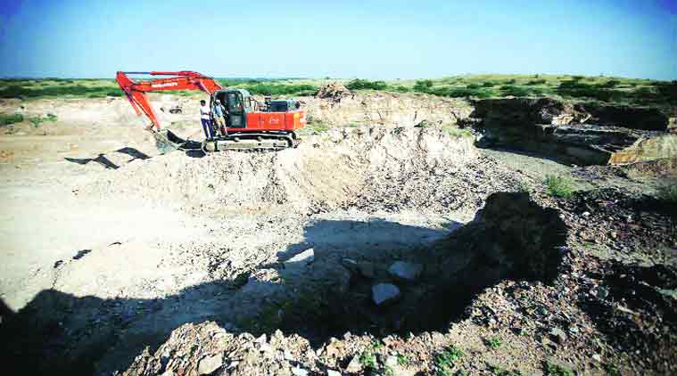 The govt. of India has announced to launch a mobile app that will alert authorities on illegal mining.