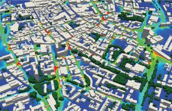 Scientists from EarthSense Systems and the University of Leicester have published the results of a study that shows a direct link between air pollution and the green infrastructure of the cities.