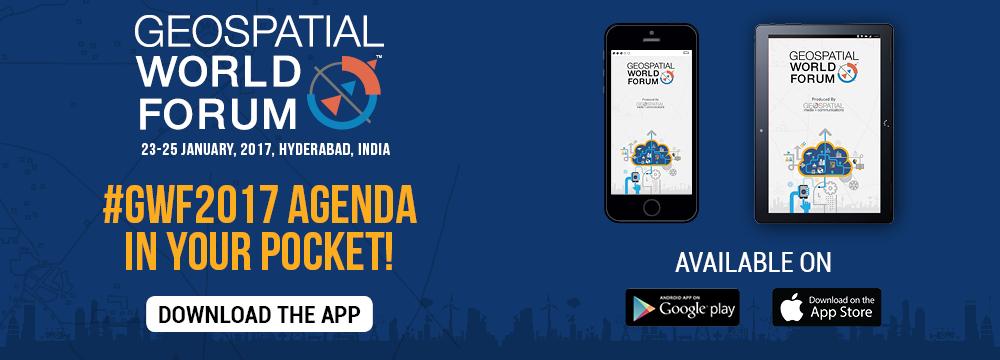 Geospatial Media Events Mobile App - Geospatial World Forum 2017